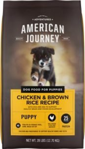 American Journey Chicken & Brown Rice Protein First Recipe Puppy Dry Dog Foody, Best Dog Foods for Beagles