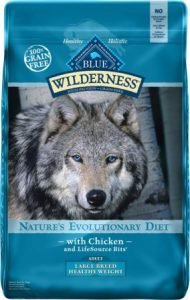 Blue Buffalo Wilderness Healthy Weight Chicken Recipe Adult Large Breed Grain-Free Dry Dog Food - Popular Brand
