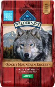 Blue Buffalo Wilderness Rocky Mountain Recipe with Red Meat Adult Grain-Free Dry Dog Food