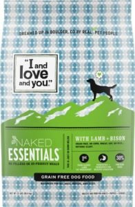 I and Love and You Naked Essentials Lamb & Bison Recipe Grain-Free Dry Dog Food