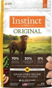 Instinct Original Grain-Free Recipe with Real Chicken Freeze-Dried Raw Coated Dry Dog Food