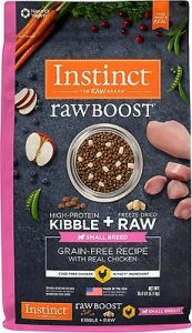 Instinct Raw Boost Small Breed Grain-Free Recipe with Real Chicken & Freeze-Dried Raw Pieces Dry Dog Food