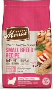 Merrick Classic Healthy Grains Small Breed Recipe Adult Dry Dog Food, 4-lb bag