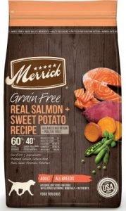 Merrick Grain-Free Salmon & Sweet Potato Recipe Dry Dog Food