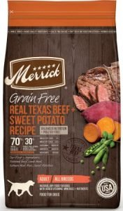 Merrick Grain-Free Texas Beef & Sweet Potato Recipe Dry Dog Food