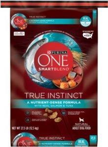 Purina ONE SmartBlend True Instinct with Real Salmon & Tuna Adult Dry Dog Food
