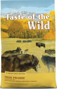 Taste of the Wild High Prairie Grain-Free Dry Dog Food - Popular Choice