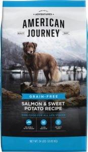 American Journey Salmon & Sweet Potato Recipe Grain-Free Dry Dog Food - Premium Pick for Sensitive Stomachs