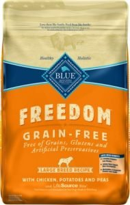 Blue Buffalo Freedom Large Breed Adult Chicken Recipe Grain-Free Dry Dog Food, 24-lb bag - Affordable Pick