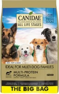 CANIDAE All Life Stages Multi-Protein Formula Dry Dog Food – Premium Pick