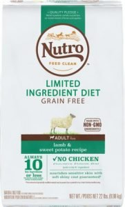 Nutro Limited Ingredient Diet Grain-Free Adult Lamb & Sweet Potato Recipe Dry Dog Food - Affordable Pick