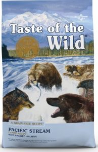 Taste of the Wild Pacific Stream Grain-Free Dry Dog Food – Popular Pick