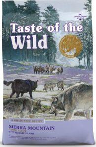 Taste of the Wild Sierra Mountain Grain-Free Dry Dog Food - Popular Pick